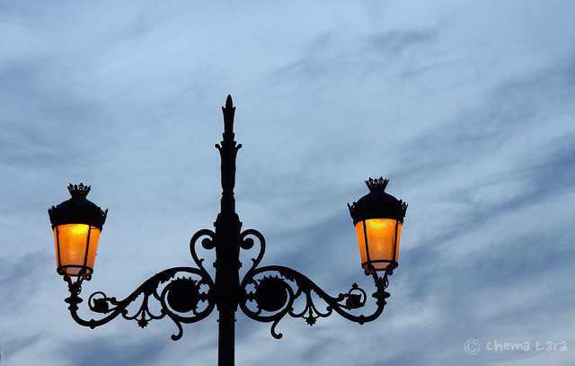 Iluminando el cielo