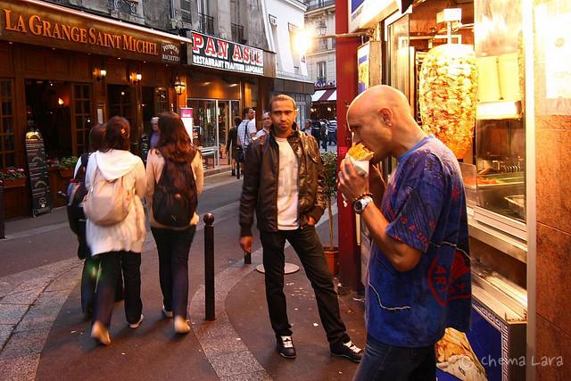 Oro comestible en el barrio latino
