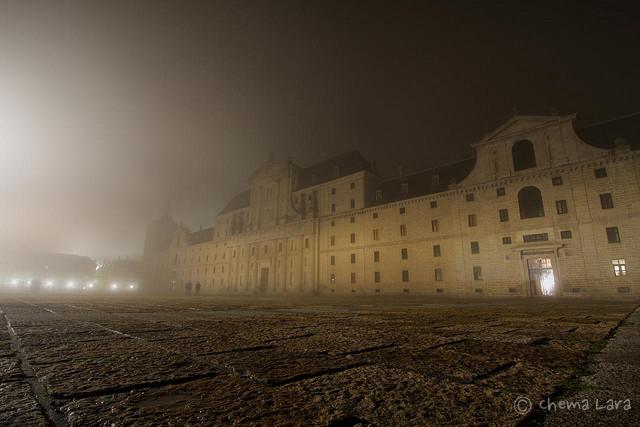 La niebla se come el Monasterio