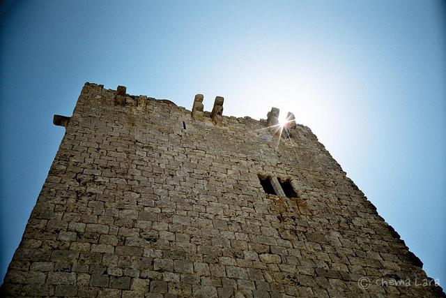 Torre del castillo de Tiedra