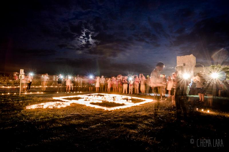 Los flashes de las velas