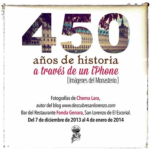 450 años de historia a través de un iPhone